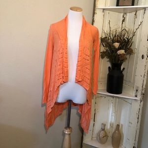 {Maurice's} Orange Cardigan